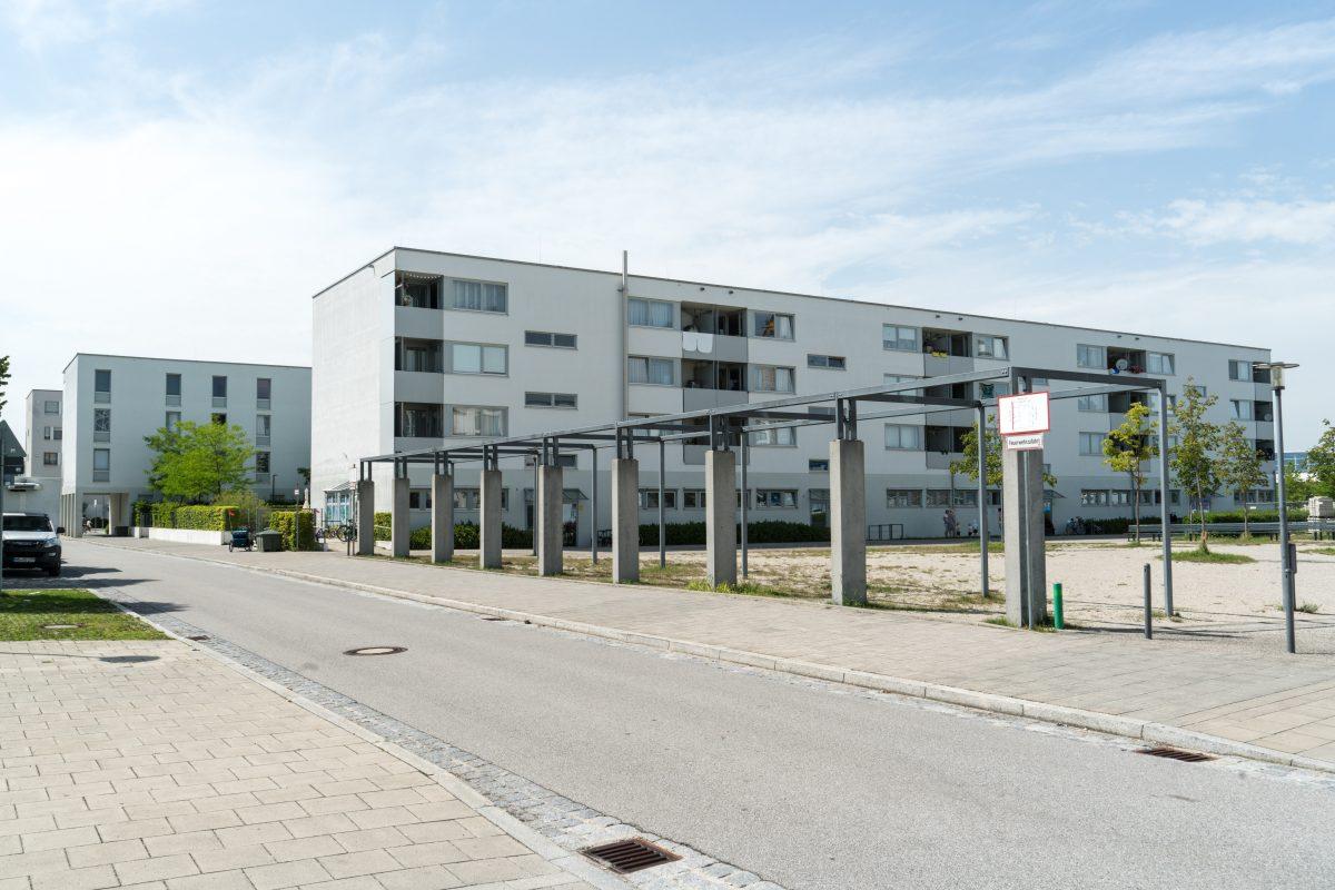 Geometrical Messestadt Riem
